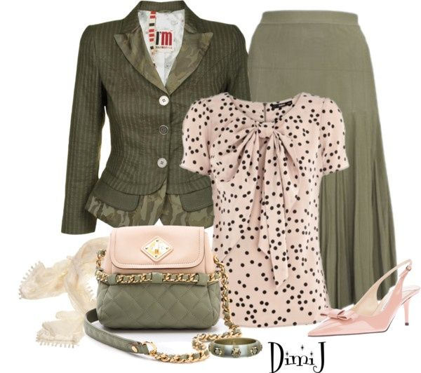 """""""Office Look"""" by dimij on Polyvore - shirts, refashion, for teens, flannel, floral, teacher shirt *ad"""