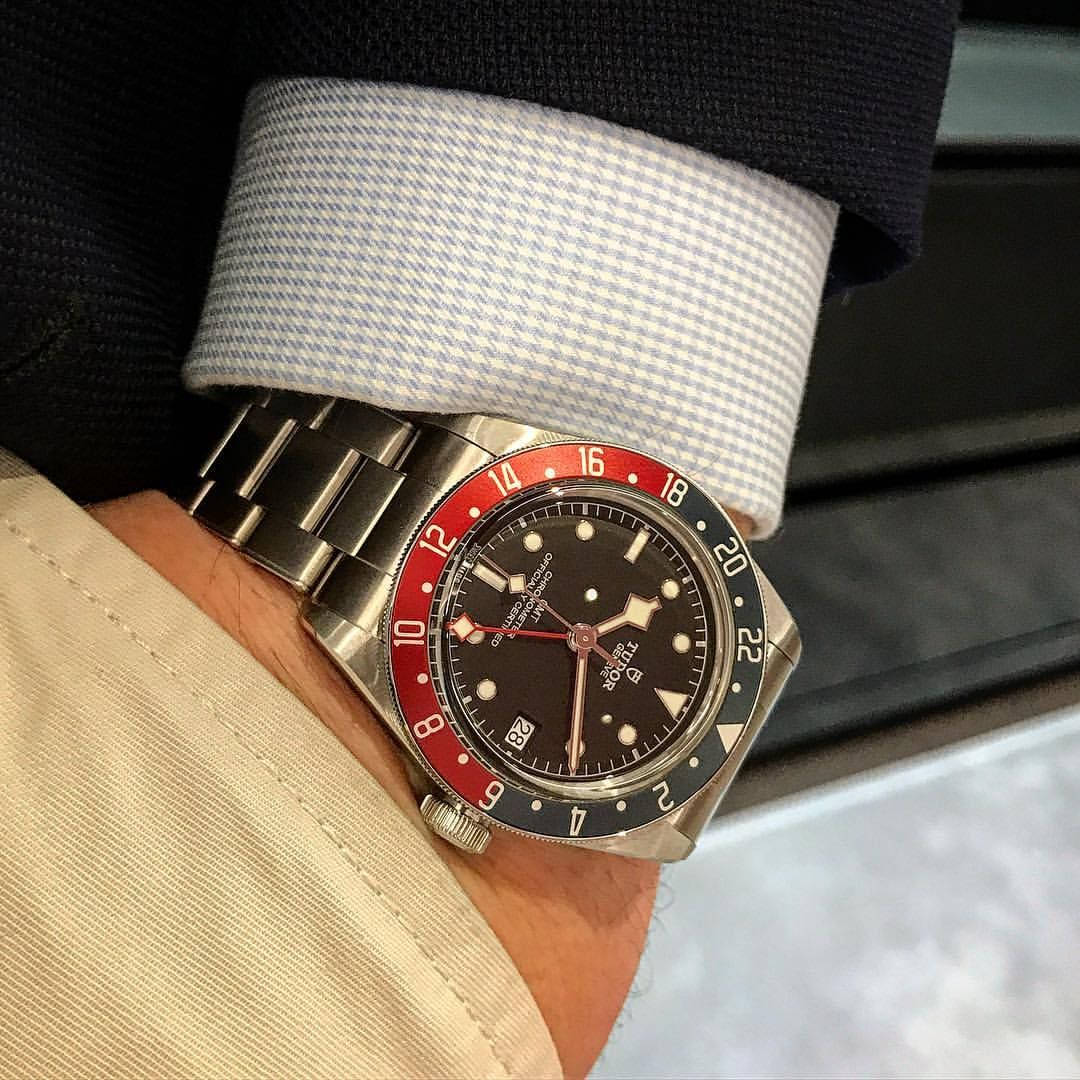 1491d2bb94f4 Tudor Black Bay GMT