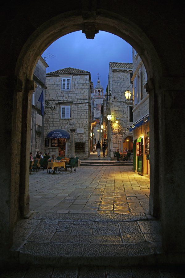 Streets Of Korcula 4 By Citizenfresh On Deviantart Croacia Zagreb Croacia Zagreb