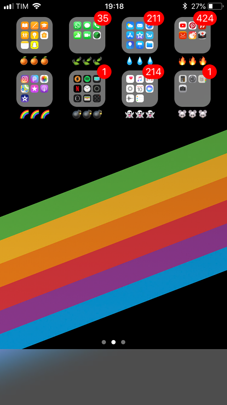 Iphone organization, Iphone home screen layout, Iphone layout