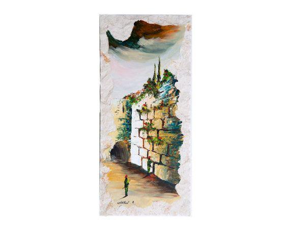 Jewish Home Decor Jewish Art Made In Israel Judaica Wall Etsy Jewish Art Western Wall Art Art