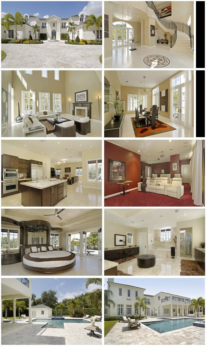 Go Inside D Wade S Crib Dream Home Design Mansion Designs