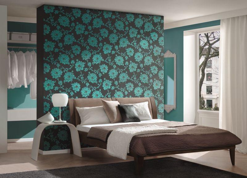 cuarto marrón turquesa | Camas | Pinterest | Turquoise bedrooms ...