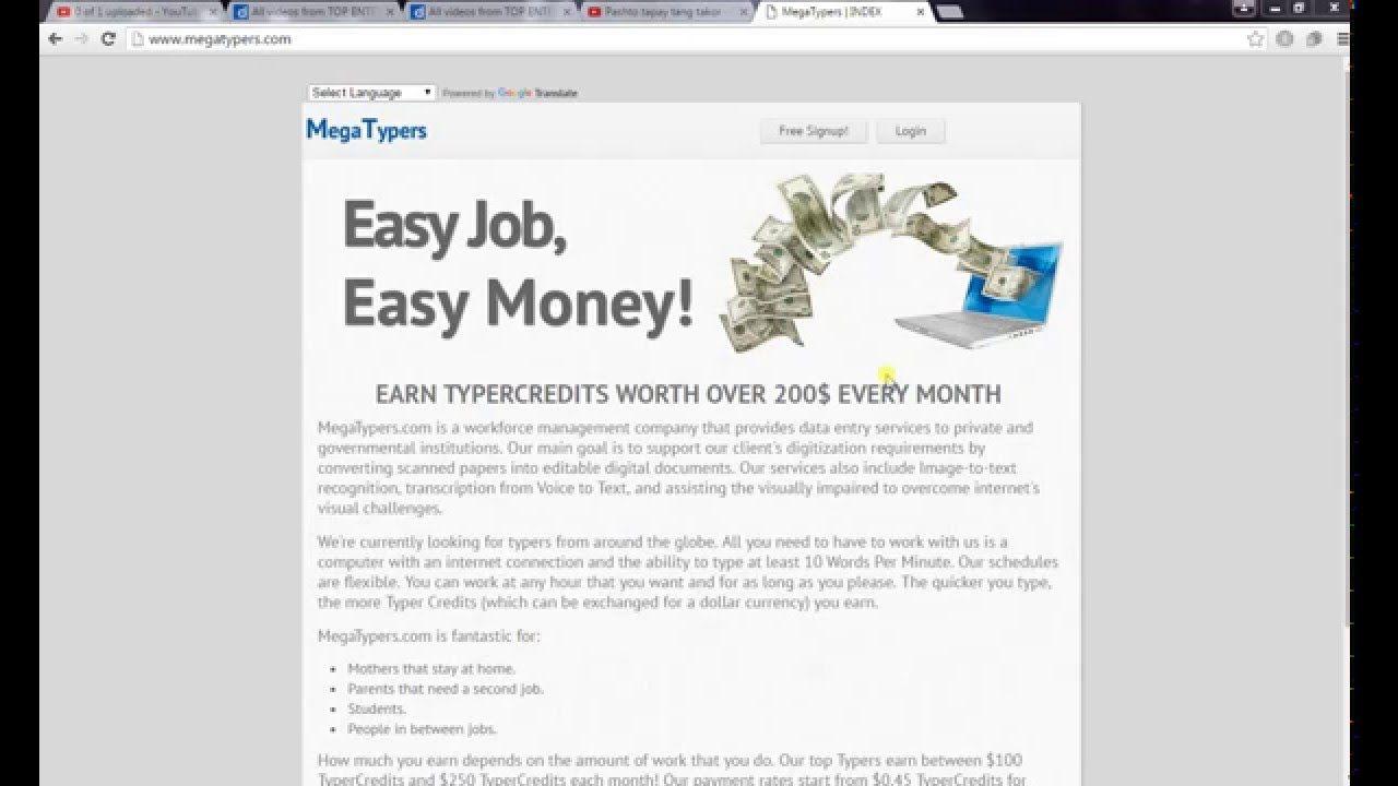 Data Entry Work(100% Legit)- Data entry jobs work from home | Make ...