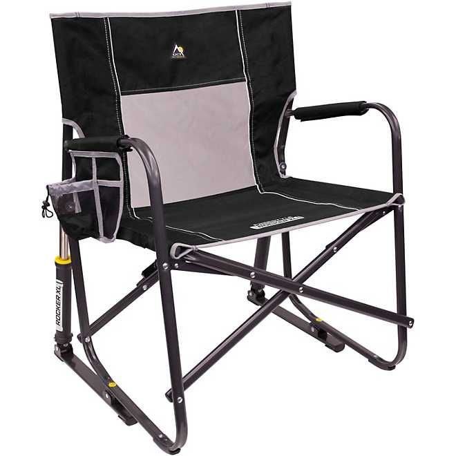 Gci Outdoor Xl Freestyle Rocker Academy Folding Rocking Chair Camping Rocking Chair Portable Rocking Chair