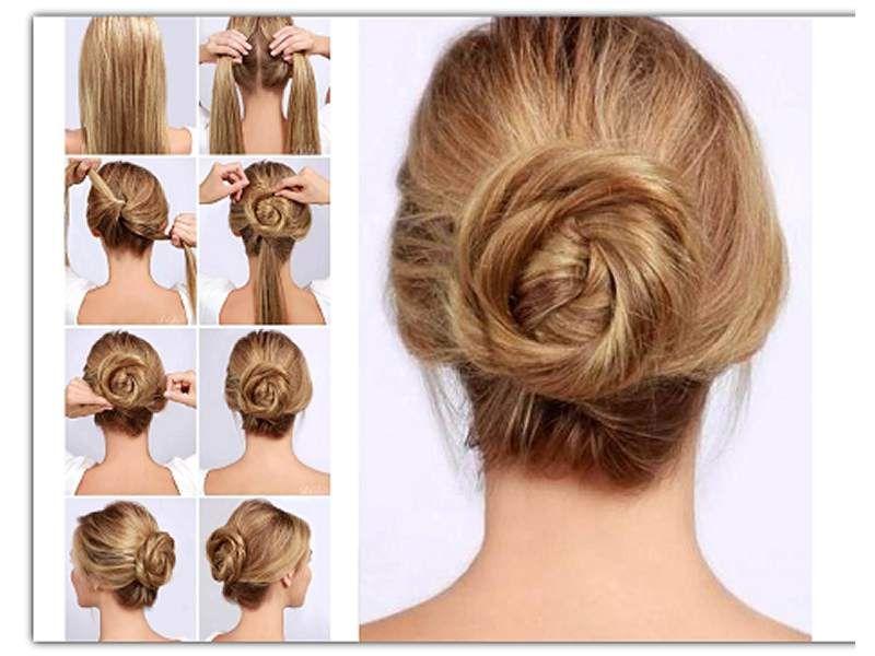 Resultado de imagen para peinados para fiesta faciles de - Peinados de moda faciles de hacer en casa ...