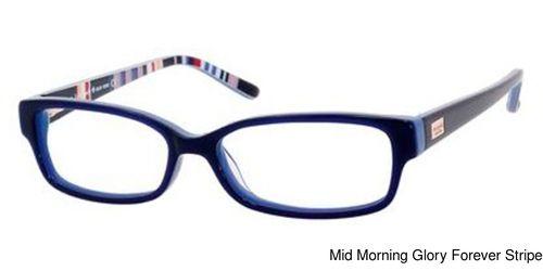 Kate Spade Lorelei Eyeglasses Frames Prescription Lenses Fit ...