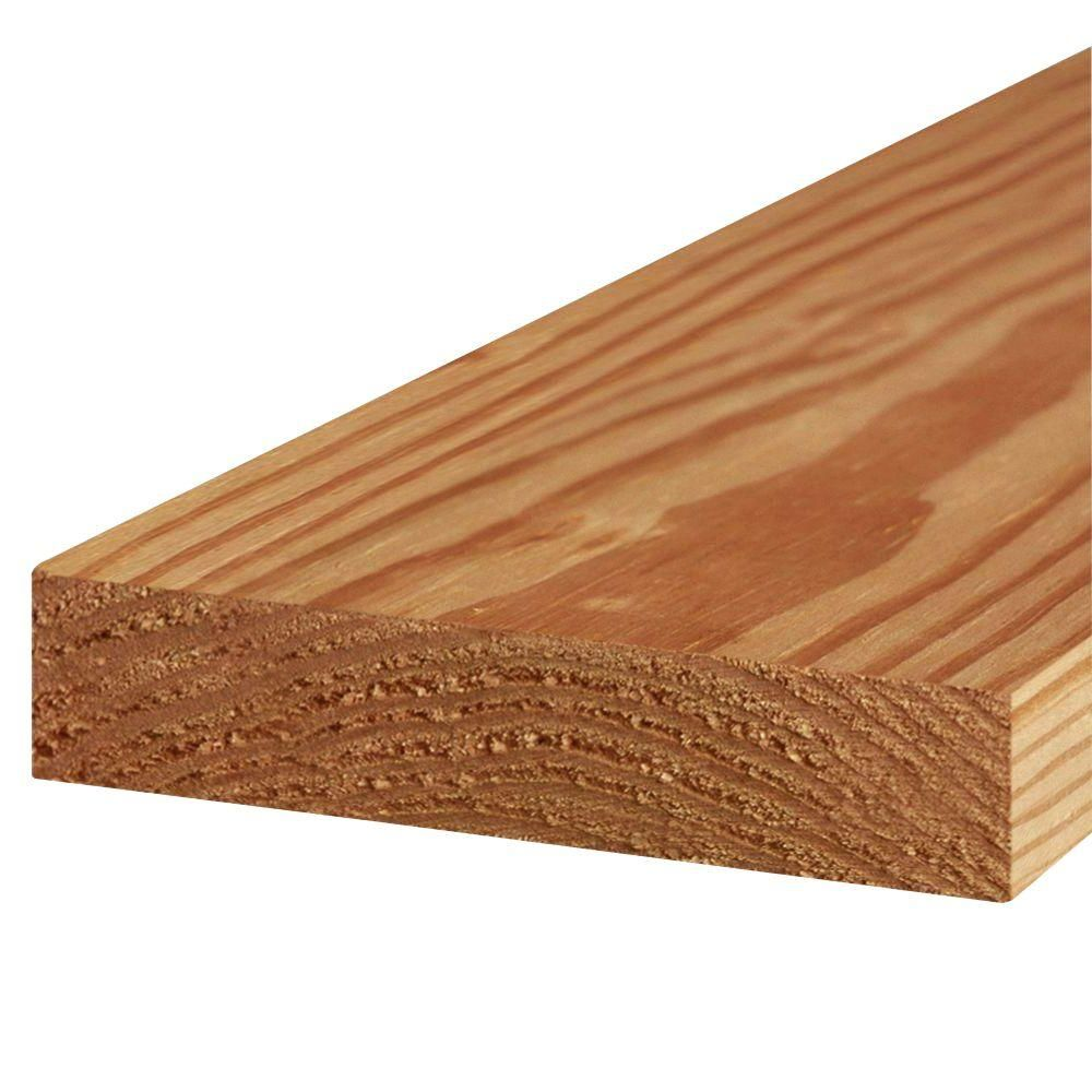 2 In X 8 In X 8 Ft 2 Prime Cedar Tone Lumber Wood Deck Cedar