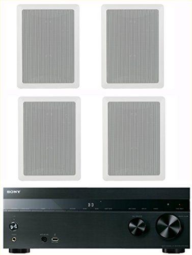 Introducing sony channel watt  av home theater receiver yamaha highperformance natural surround sound way inwall speaker system set of also rh in pinterest