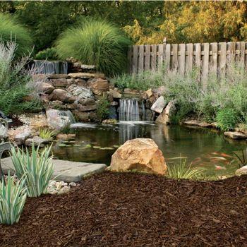 Costco Rubberific Recycled Rubber Landscape Mulch Earthtone