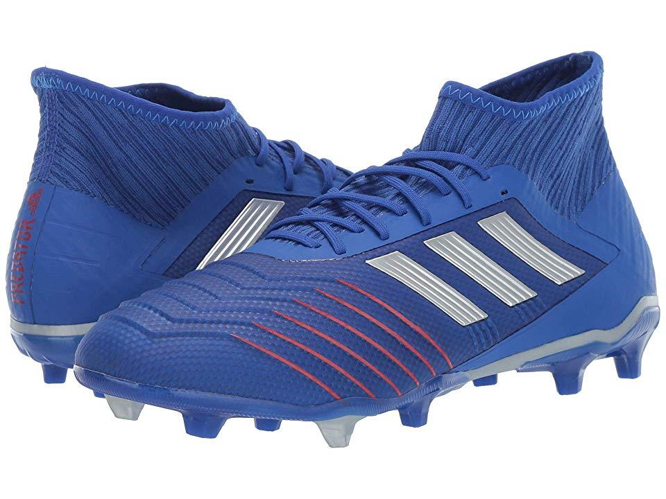 adidas Predator 19.2 FG Men's Soccer Shoes Bold BlueSilver