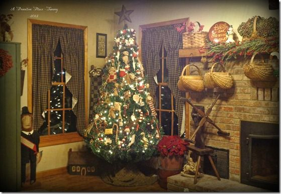 A Primitive Place ~ Tammy Christmas Decor Part Two ~ 2012 ~ Serious Picture Overload! & Primitive Christmas A Primitive Place ~ Tammy | Places to Visit ...