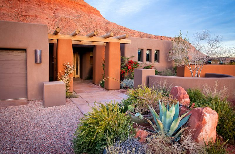 22 Earth Toned Southwestern Houses Inclined To Nature Home