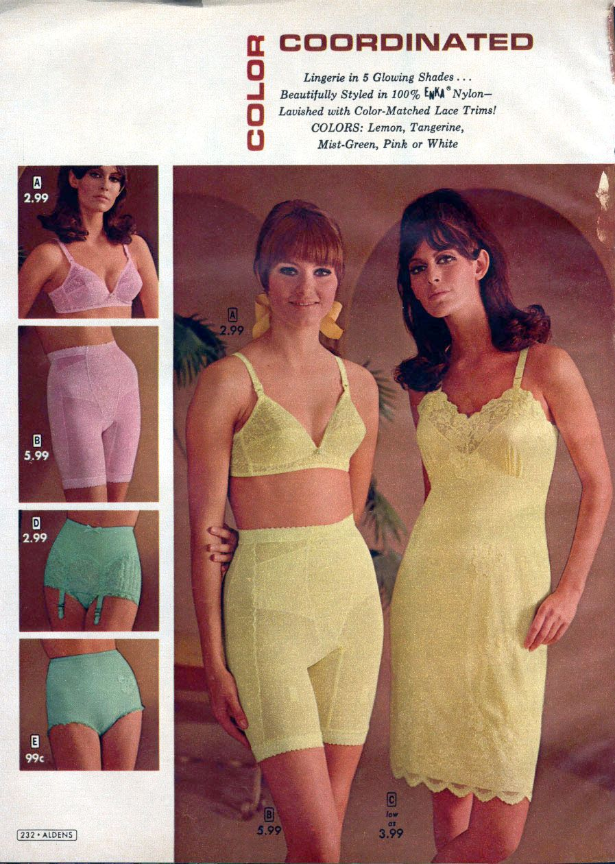 Vintage Lingerie Catalog Aldens Vintage Lingerie