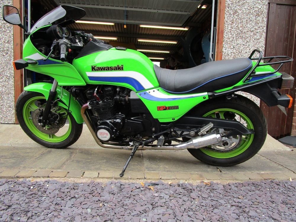 1983 kawasaki gpz1100 zx1100 a1 classic motorcycle