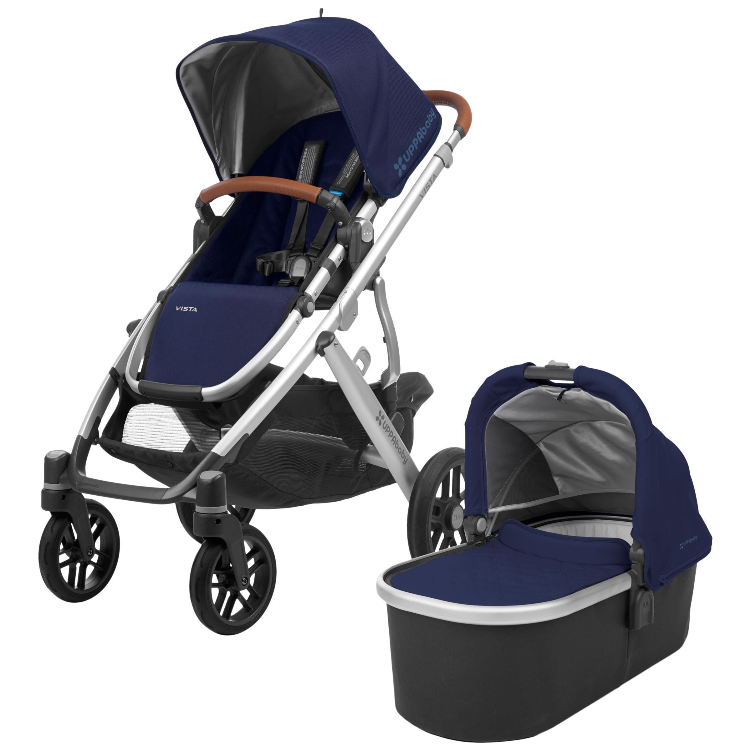 UPPAbaby Vista Pushchair and Carrycot, Taylor Vista