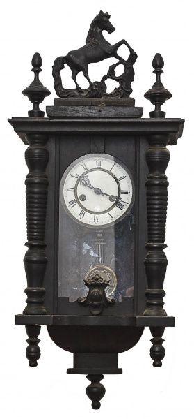 c2ef2079ed5 Relógio de parede com pêndulo e chave