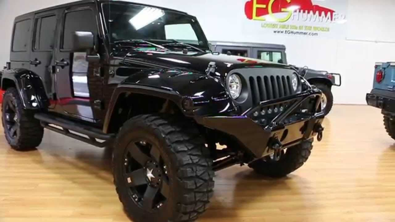 Review Of Lifted 2013 Jeep Wrangler Unlimited Show Truck For Sale