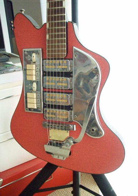 fernando catatau zimgar anos 60 4 pickup guitars guitar vintage guitars japanese guitar. Black Bedroom Furniture Sets. Home Design Ideas