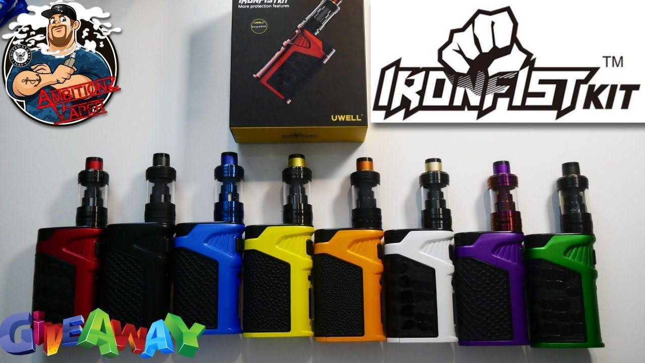 Iron Fist 200w Box Mod Kit by Uwell Review & Giveaway X4