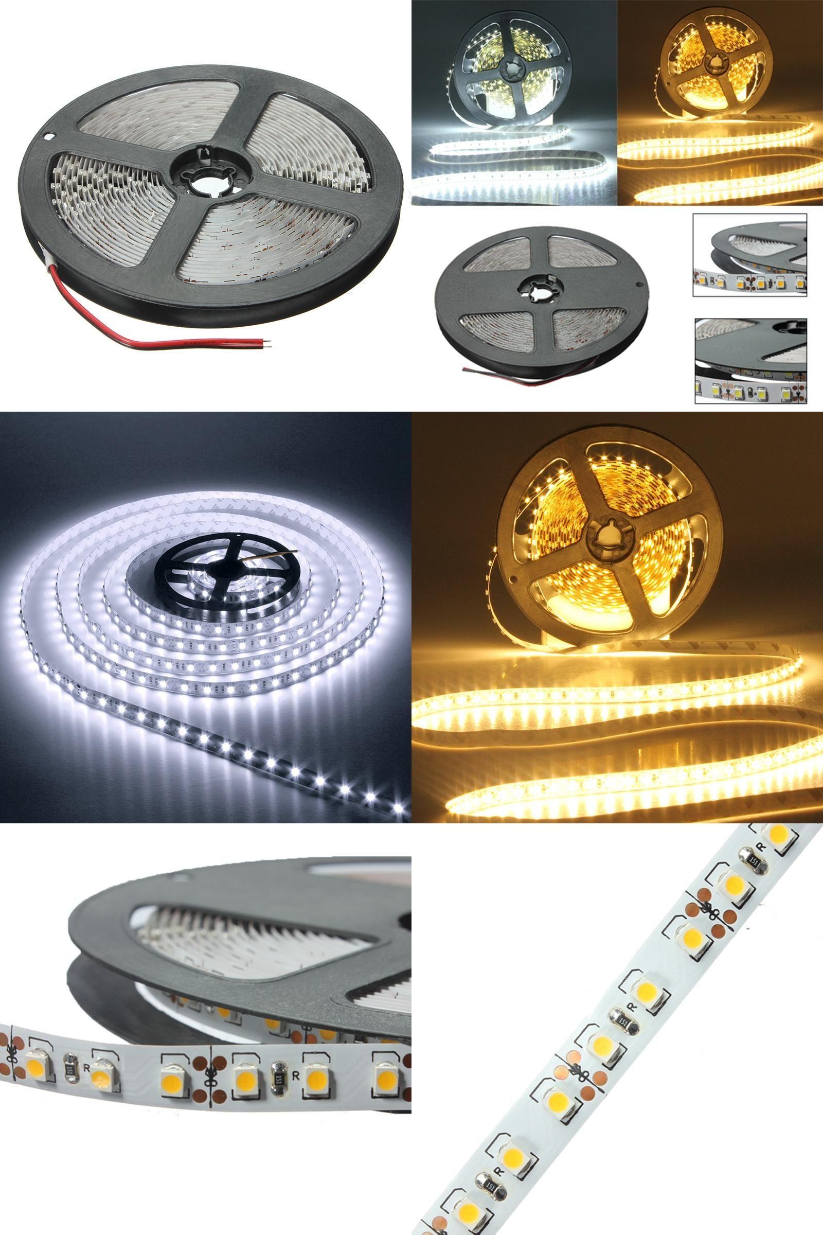 Visit to Buy] 5M 600 LED 3528 SMD Flexible Strip Tape Light Non ...