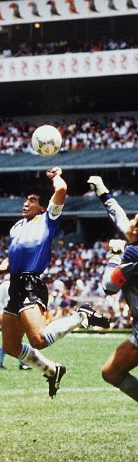 1986 Fifa World Cup Maradona S Hand Of God Soccer World World Football Sport Football