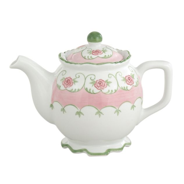 pink teapots | Eloise Pink Teapot [18603] | Tea for Two ...