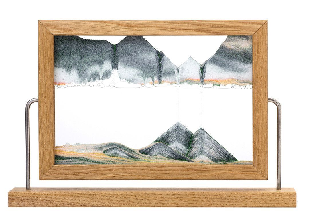 Limited edition moving sand art picture in window series