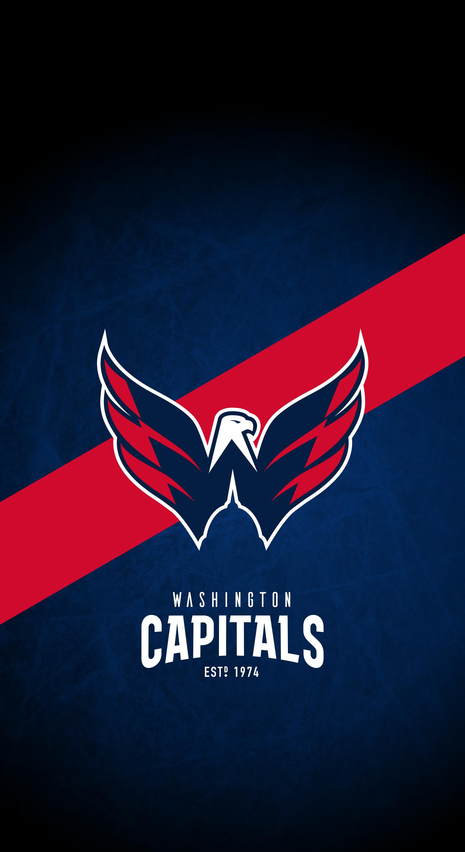 Washington Capitals Nhl Iphone X Xs Xr Lock Screen Wallpaper Washington Capitals Washington Capitals Hockey Nhl Wallpaper