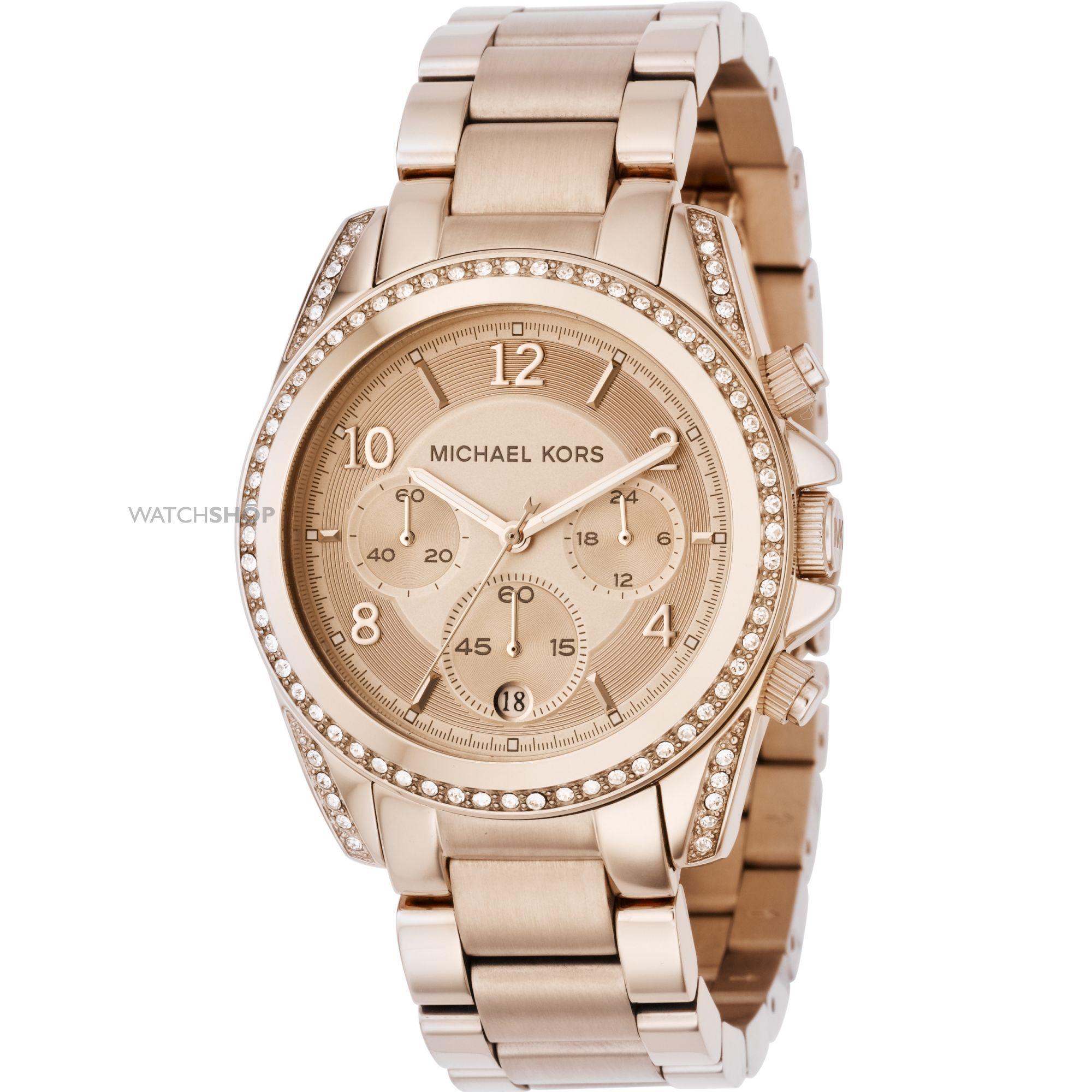Ladies Michael Kors Blair Chronograph Watch MK5263 | Michael