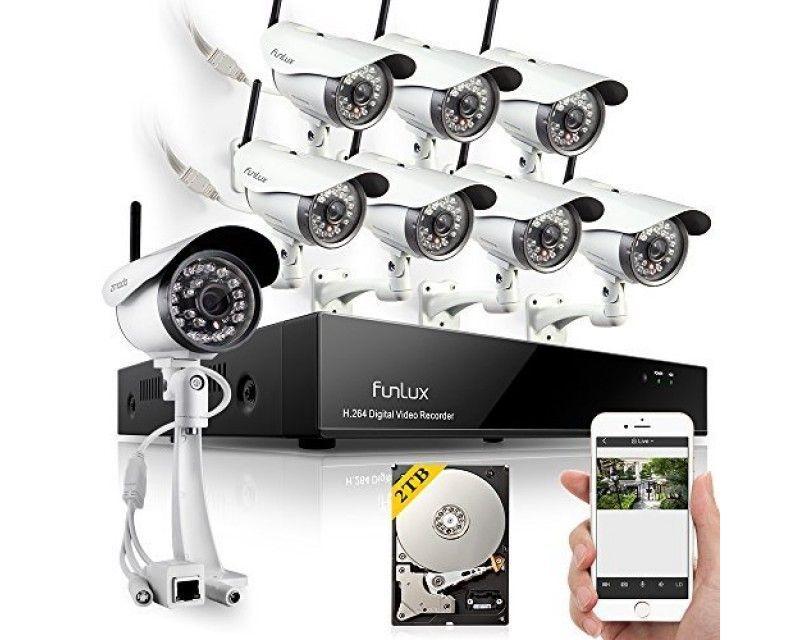 Funlux Outdoor Home Security Cameras | Home Security Cameras ...