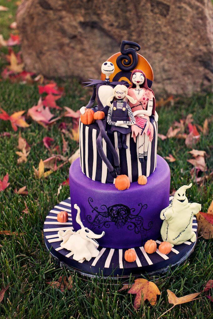 A Nightmare Before Christmas (Birthday) Fancy cakes