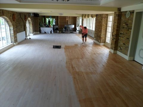 Hard At Work Another Wooden Floor Made Beautiful Wood Flooring
