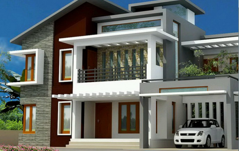 Home (With images) Residential house, House roof, House