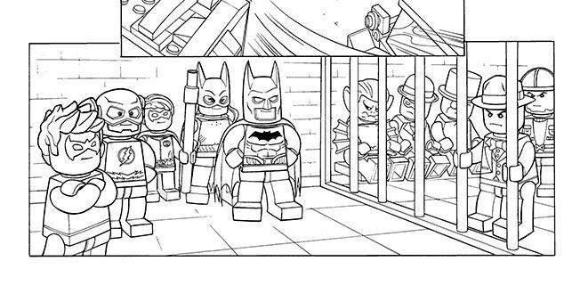 Lego Batman Ausmalbilder Inspirierend Avengers: LEGO 2014 - Coloring Sheet 10