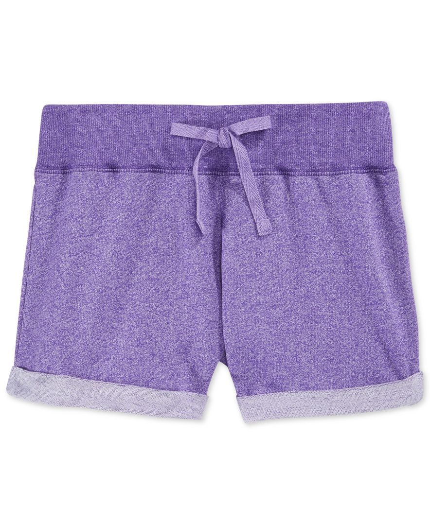 Layer 8 Little Girls' Rolled-Hem Shorts