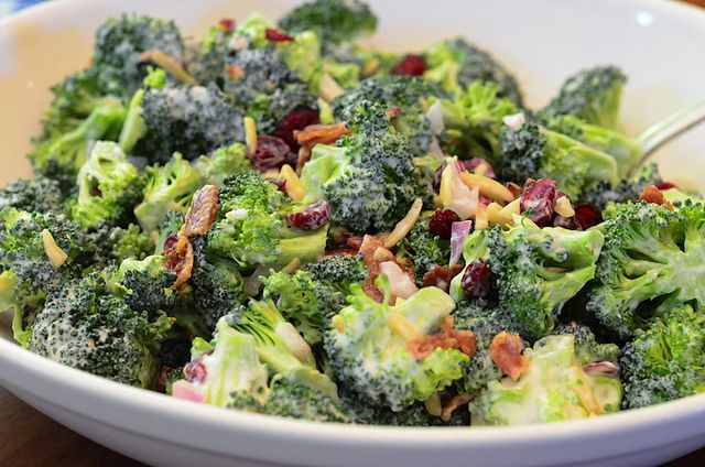 Broccoli Salad - From Valerie's Kitchen 038.jpg by From Valerie's Kitchen, via Flickr