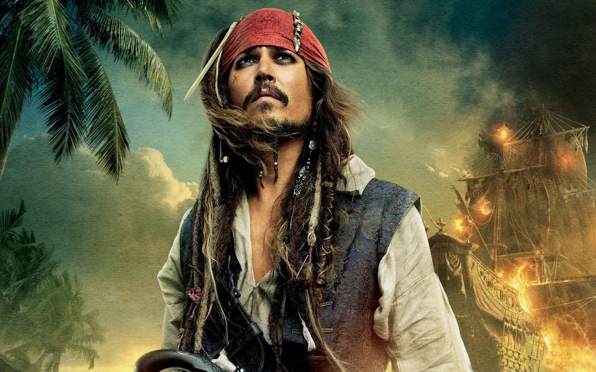 Captain Jack Sparrow HD Wallpaper Free Your HD Wallpaper