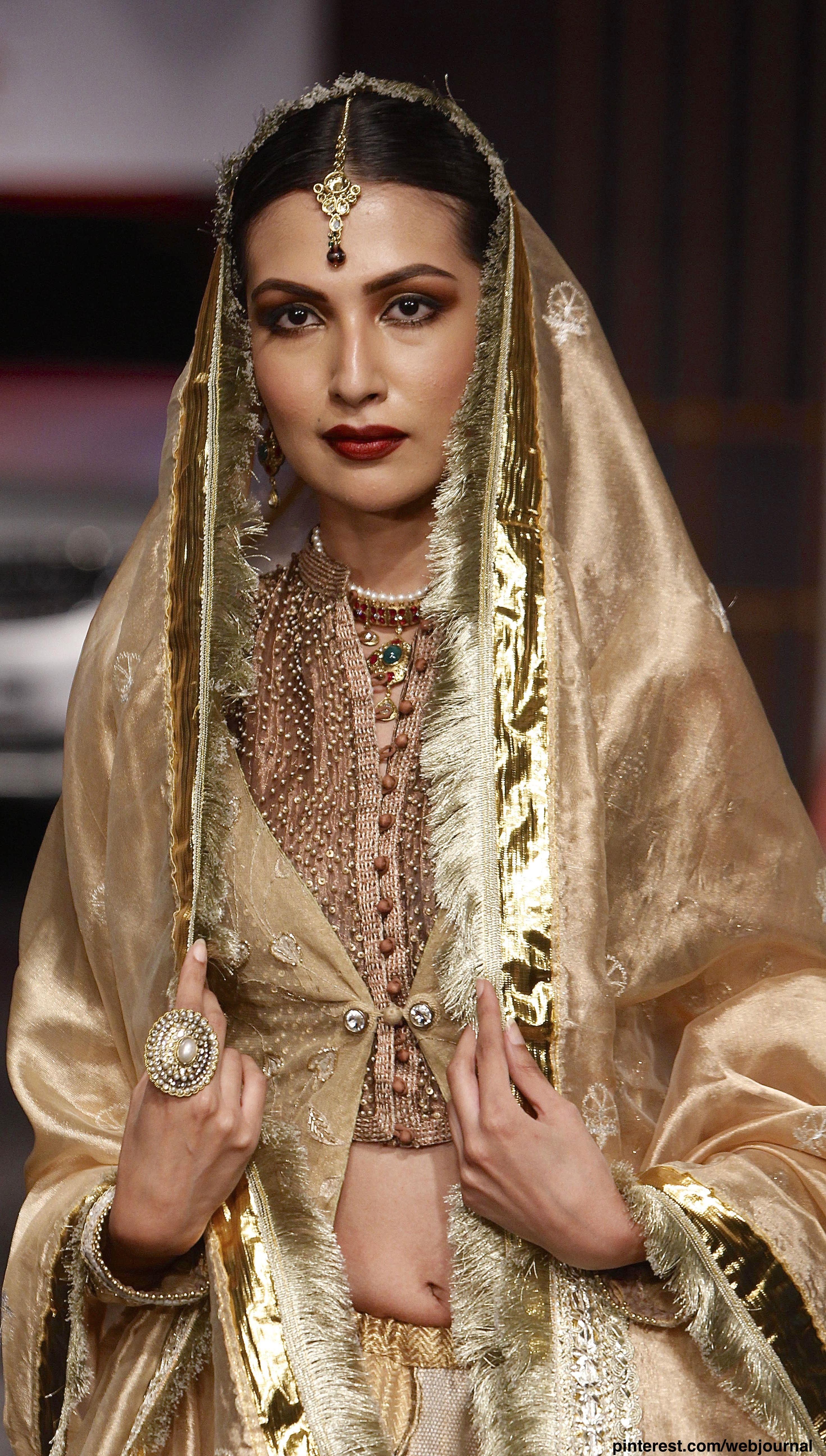 Meera Muzaffar Ali Avibfw 2014 Indian Bridal Fashion