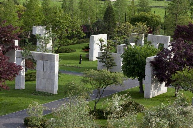 Baum Museum Schweiz Sandstein Wände