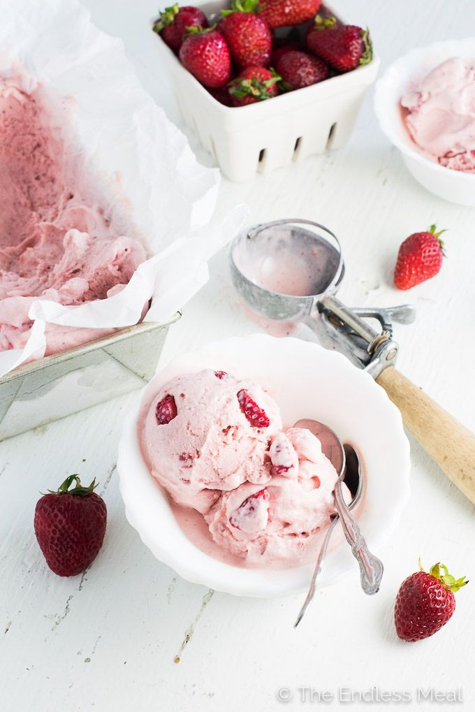 The Best Strawberry Ice Cream Recipe Icing And Recipes