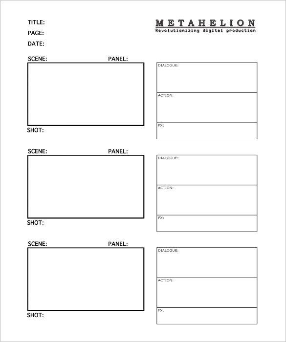 Image result for tv storyboard story bo a rd Storyboard template