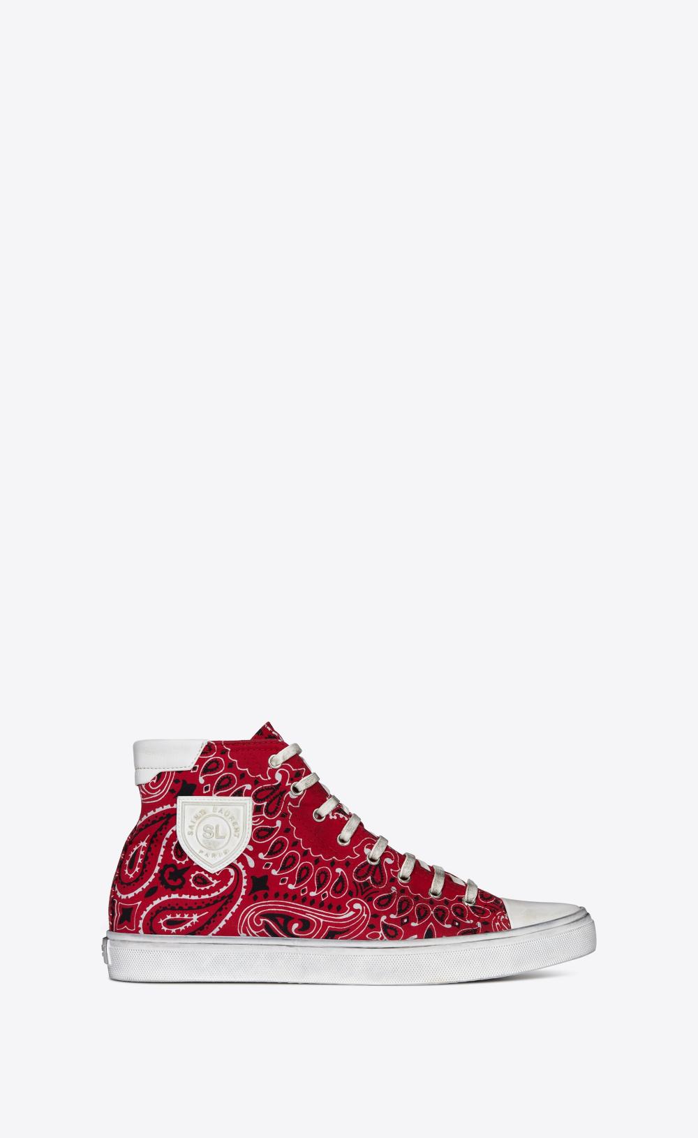 Saint Laurent Bedford Sneakers In