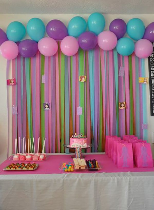 Lego friends birthday party ideas decoraciones para for Decoracion para pared fucsia