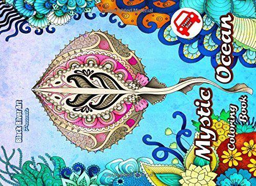 Mystic Ocean Travel Size Coloring Book By Karlon Douglas Amazon Dp 1544646402 Refcm Sw R Pi X TBIfzbRGA042C