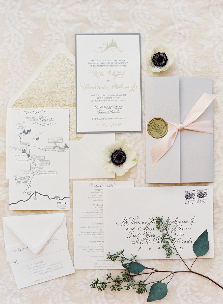 Rustic + Romantic Blush Colorado Ranch Wedding | Pinterest ...