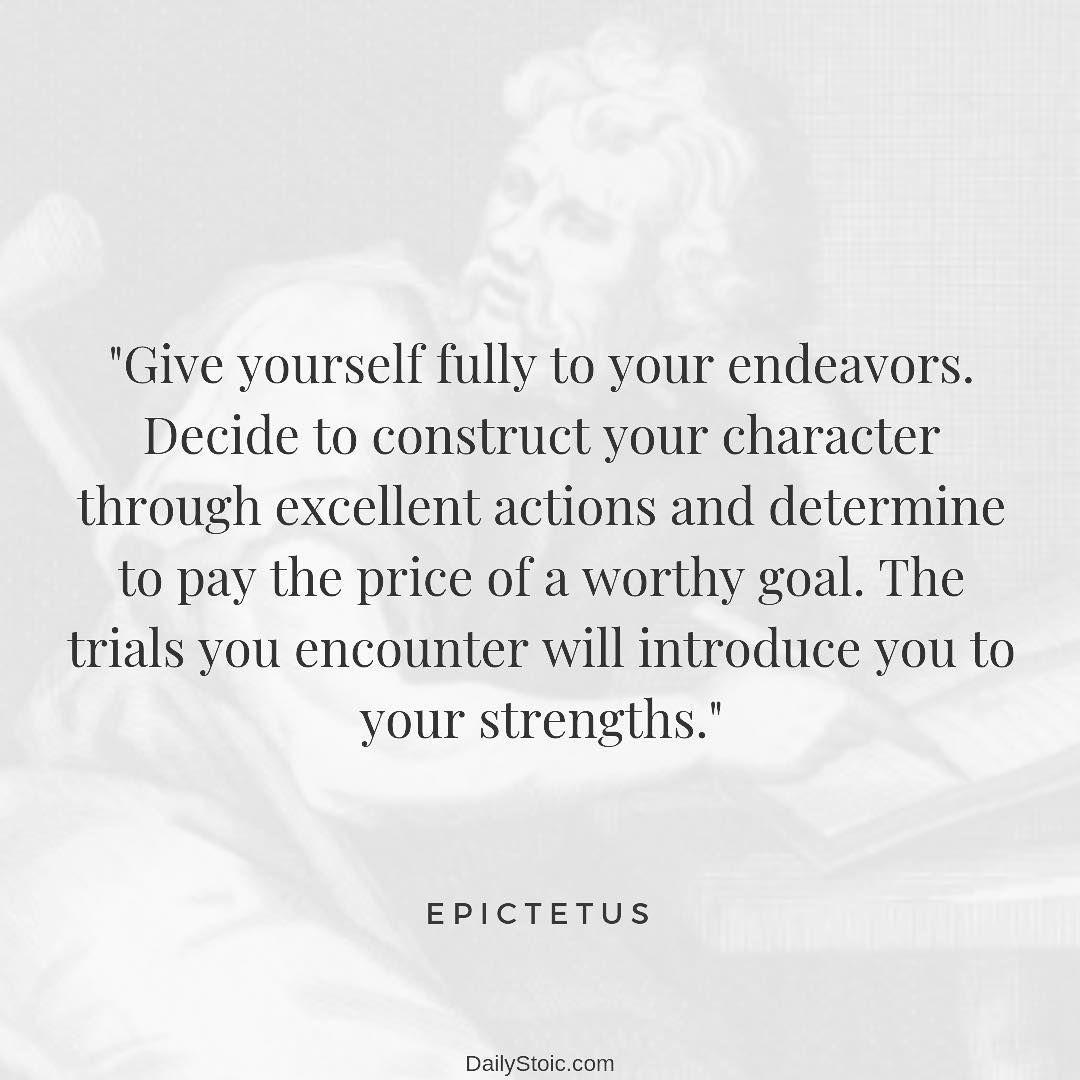 Daily Stoic On Instagram Epictetus Stoic Quotes Stoicism Quotes Wise Quotes