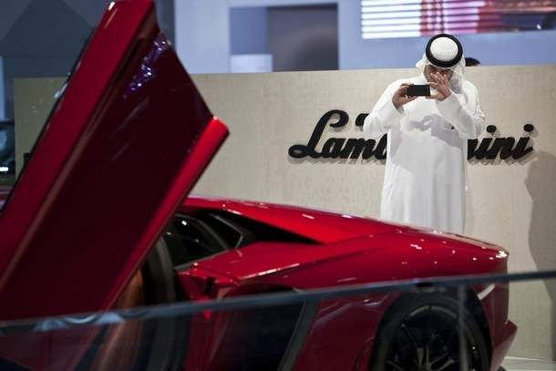 A look at some of the ultra-expensive and exotic #cars on display this week at the #Dubai International #Motor_Show. #Luxury #FastCars
