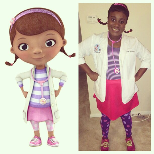 adult doc mcstuffins costume