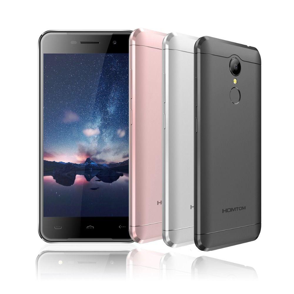 Homtom HT37 Pro Double Speaker Mobile Phone 5.0 Inch HD